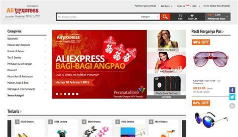 aliexpress website aliexpress akhirnya membuka online shopping nya di