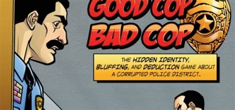 Cop Bad Cop Undercover Board Expansion Review Cop Bad Cop Undercover Expansion