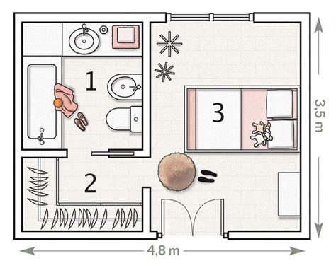 plano de habitacion planos de dormitorios