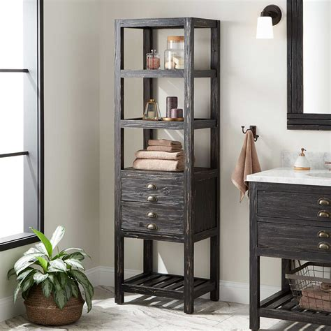 benoist bathroom linen storage cabinet antique black bathroom