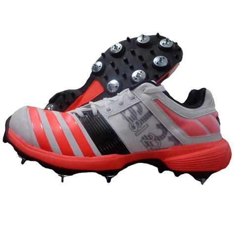 spike shoes adidas sl22 fs ii spike cricket shoes white and