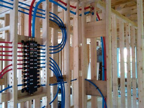 How To Install Pex Plumbing System by Not Quite A Teardown Plumbing Progress Pex Bathroom