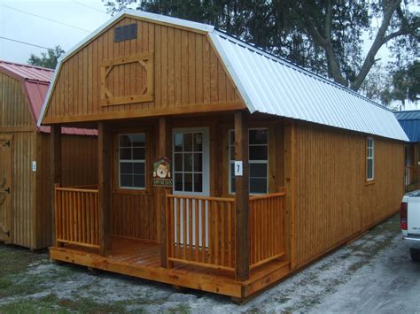 shed home loft cabin barn shed this would a great playhouse for