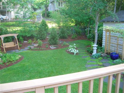 landscaping ideas for big backyards before after big backyard makeovers landscaping ideas