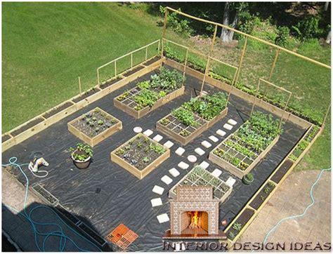 homeofficedecoration vegetable garden layout