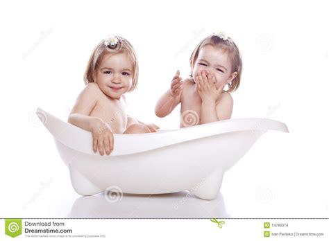 children in bathtub children in white bath tub stock images image 14789374