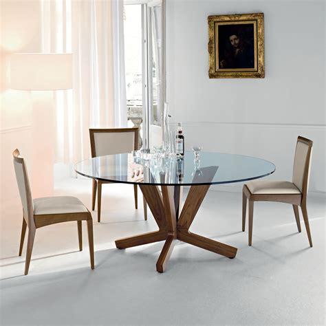sedie per tavolo cristallo tavolo in cristallo e legno goblin di cattelan arredaclick