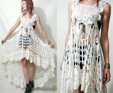 crochet dress crochet wedding dress on crochet wedding