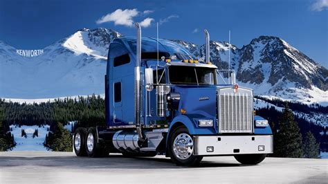 kw semi truck kenworth trucks qualcomm bestnewtrucks