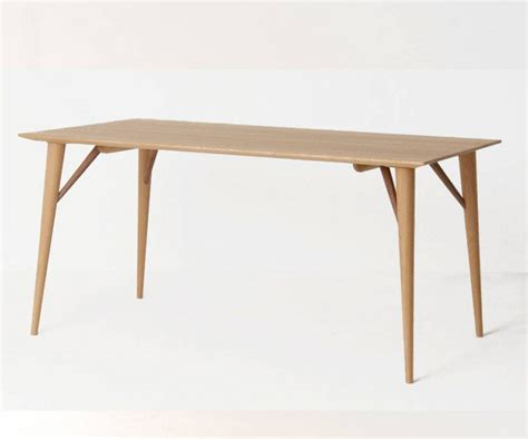 White Wood Dining Table Nissin Mokkou Apato South White Wood Dining Table