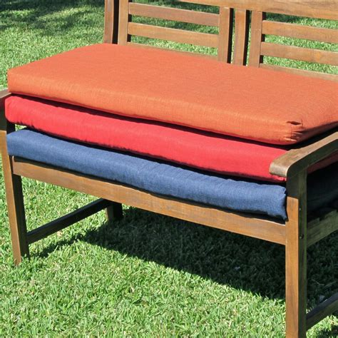 bench cover standard bench cushion sizes benches