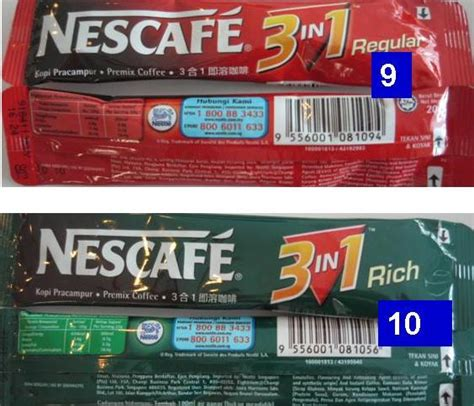 Instan 3in1 Trivia review of calories content of different types of premixed coffee tea sold in malaysia health