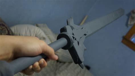 Elucidator Papercraft - sword kirito s elucidator wip by vietx2k on