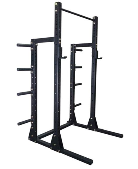 Cheap Half Rack by China Squat Half Power Rack With Plate Storage For A