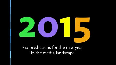 new year predictions 2015 here are six predictions for the new year 215 garc 237 a media