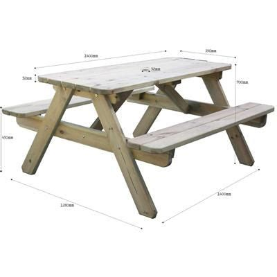 picnic table bench height 17 best images about neat picnic table ideas on pinterest