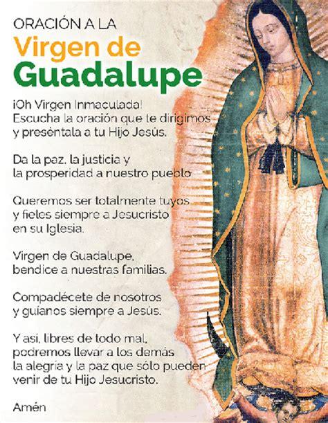 imagenes virgen de guadalupe con oracion oracion a la virgen de guadalupe virgen de guadalupe