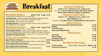 menu for brunch fresh breakfast menu page design ideas fandung