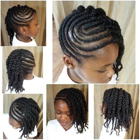 natural twist already braided in the pack krystyles15 jpg 640 215 640 pixels little girl hairstyles