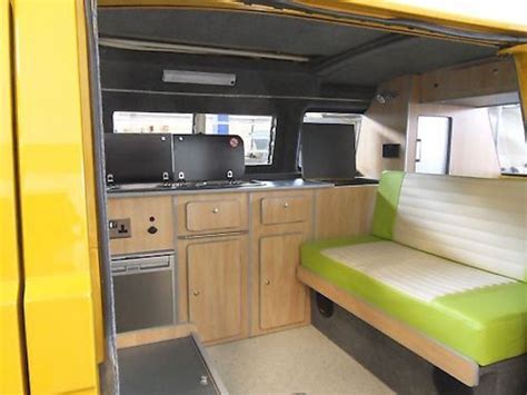 gorgeous lime green interior vanagon hacks mods