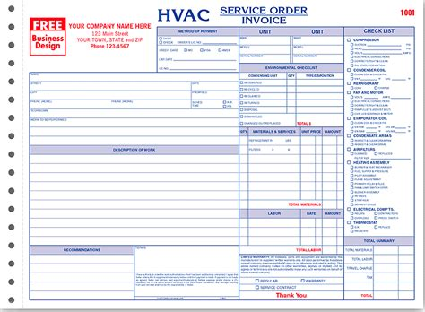 Invoice Order Form Hardhost Info Service Order Invoice Template