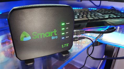 smart bro prepaid lte home wifi router unboxing review