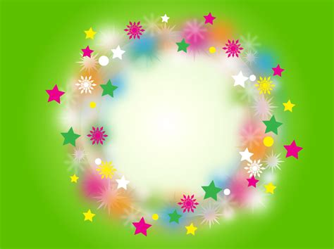rainbow christmas wreath vector art graphics