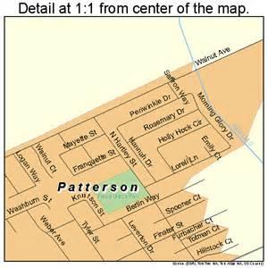 patterson california map 0656112