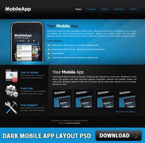mobile app layout template mobile app layout free psd millions vectors