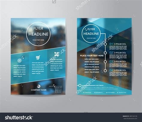 a4 layout design free business brochure flyer design layout template in a4 size