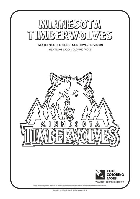 nba team logo pages coloring pages