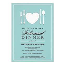 rehearsal dinner invitation place setting rehearsal dinner invitation 5 quot x 7 quot invitation card zazzle