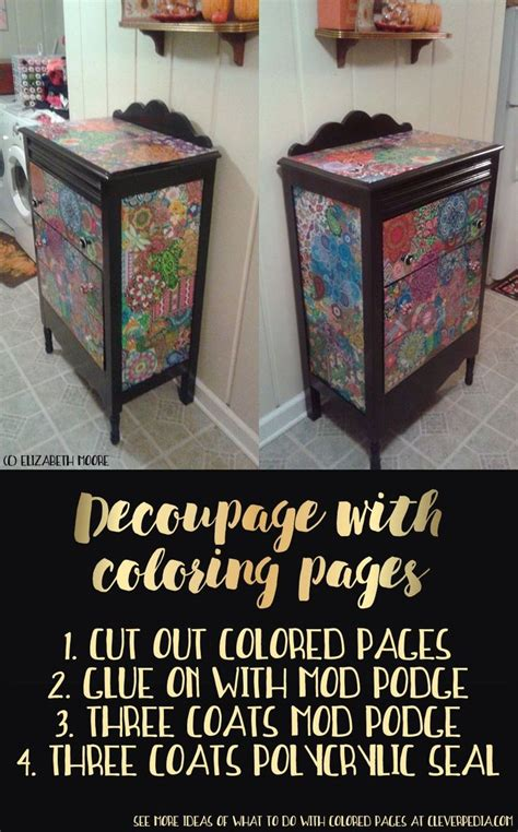 Things To Decoupage - 25 best ideas about decoupage dresser on