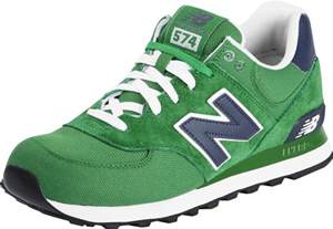 new balance ml574 chaussures vert