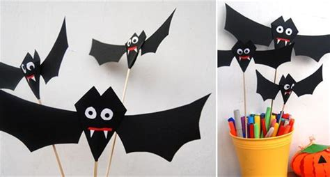 halloween decorations to make at home for kids easy diy halloween home decor ideas with ghosts bats and