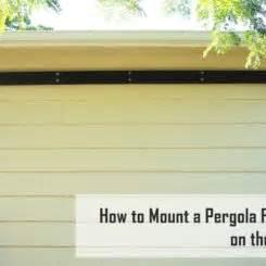 how to install a pergola how to install pergola post brackets