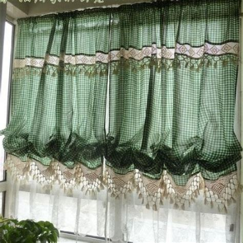 balloon curtains for kitchen 13 best images about kitchen curtains on window treatments vintage curtains and pears