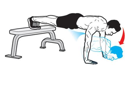 do push ups help bench press image gallery decline pushups