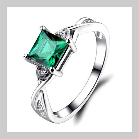 Wedding Rings Emerald by Wedding Ring Emerald Engagement Rings Wedding Rings