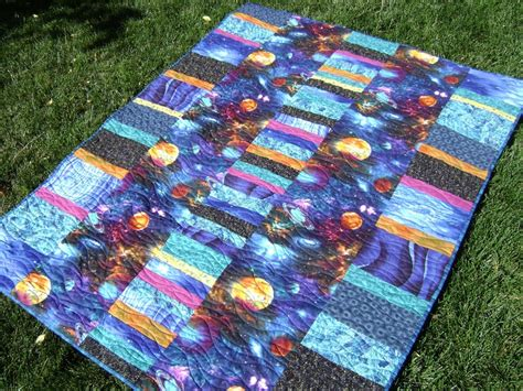 Outer Space Quilt by