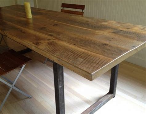 Reclaimed Wooden Dining Tables Reclaimed Wood Dining Table Designs Recycled Things