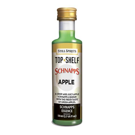 Schnapps Shelf by Still Spirits Still Spirits Top Shelf Apple Schnapps