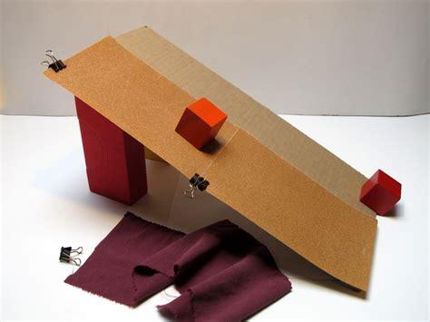 Types Of Desks friction sliding blocks down ramps ingridscience ca