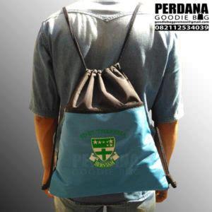 Tas Serut Drawstring Bag Fullprint Custom Murah Unik goodie bag unik di menteng tas kanvas tas blacu perdana goodiebag