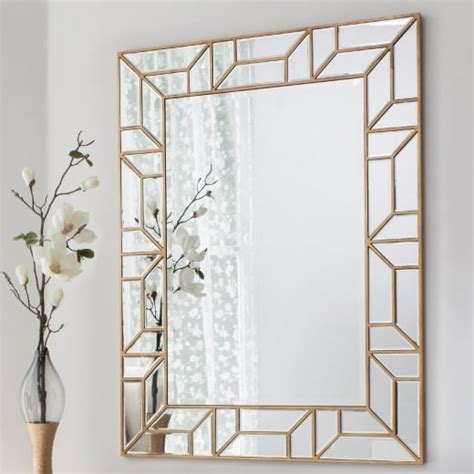 image gallery large wall mirrors sale buy large geometric mirror gold verbier statement wall