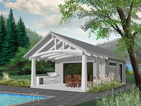 Pool House Plans With Garage by 51 Best Pool House Plans Images On Houses With