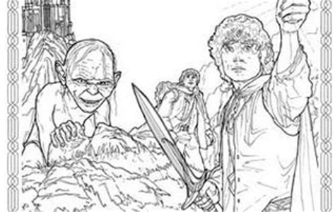 lord of the rings coloring book features news the official tolkien bookshop