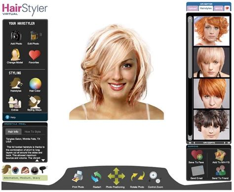 Change Hairstyle Free by Free Hairstyle Changer Software Hair