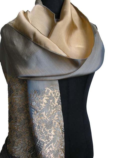 Handmade Shawl - fandori handmade silk scarf shawl wrap k278 ebay