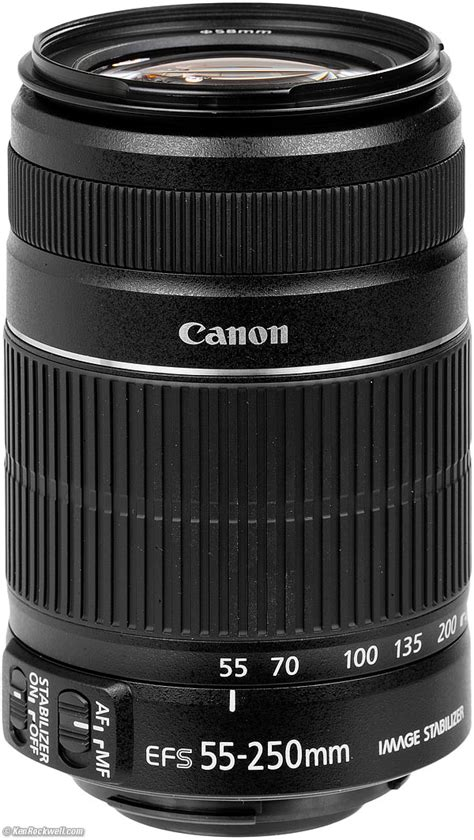 Lensa Zoom Canon 55 250mm canon 55 250mm is ii review